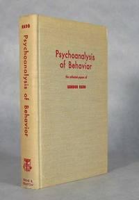 Psychoanalysis Of Behavior