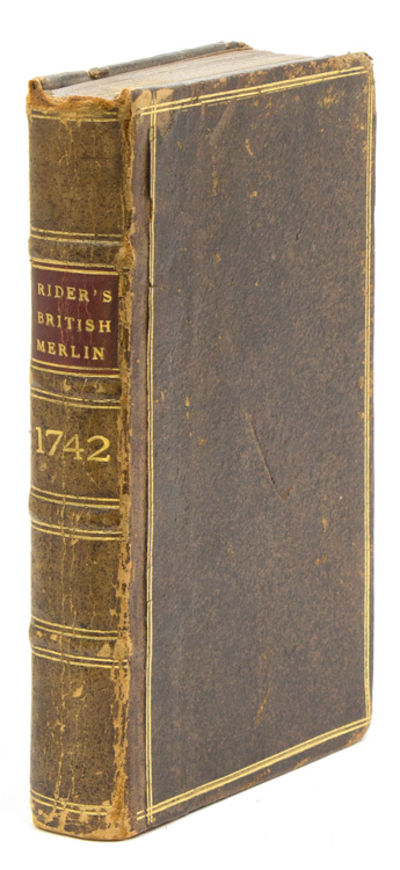London: Printed by R. Nutt, for the Company of Stationers, 1742. First edition. , ; 43, ; 43, ; 36; ...