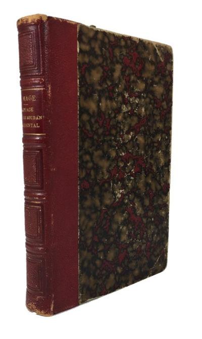 Paris: Hachette, 1877. Deuxieme ed. Hardcover. Good. 16 illustrations (including frontis), folding m...