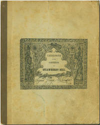 A CATALOGUE OF THE CLASSIC CONTENTS OF STRAWBERRY HILL  COLLECTED BY HORACE WALPOLE