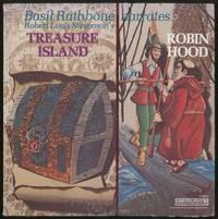 [Vinyl Record]: Basil Rathbone Narrates Robert Louis Stevenson's Treasure Island and Robin Hood