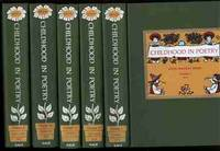 CHILDHOOD IN POETRY: A CATALOGUE, WITH BIOGRAPHICAL AND CRITICAL  ANNOTATIONS, OF THE BOOKS OF ENGLISH AND AMERICAN POETS COMPRISING THE  SHAW CHILDHOOD IN POETRY COLLECTION IN THE LIBRARY OF THE FLORIDA STATE  UNIVERSITY. 5 VOLUMES.