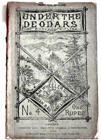Under the Deodars Rare Rudyard Kipling First Edition Book 1888