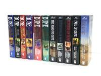 Eleven Dune Novels, All Signed - DUNE: House Atreides, DUNE: House Harkonnen, DUNE: House Corrino, DUNE: The Butlerian Jihad, DUNE: The Machine Crusade, DUNE: The Battle of Corrin, THE ROAD TO DUNE, SANDWORMS OF DUNE, HUNTERS OF DUNE, PAUL OF DUNE, THE WINDS OF DUNE