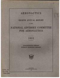 Eighth Annual Report of the National Advisory Committee ...