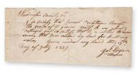 Manuscript wolf bounty receipt.