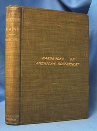 image of THE GOVERNMENT OF MAINE Its History and Administration