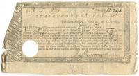 Partially Printed Receipt for Payment to Connecticut Revolutionary War Soldier Elisha Fox
