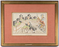 L'Incidente, Color Lithograph, c1900 by France; Caricature - 1900 - from The Lawbook Exchange Ltd (SKU: 71533)