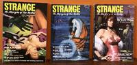STRANGE. The Magazine of True Mystery. (Complete run) March, May and July, 1952