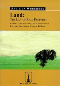 image of Revision Workbook: The Law of Real Property (Land: The Law of Real Property)