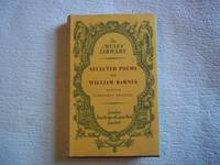 image of Selected Poems of William Barnes 1800-1886. The Muses' Library.