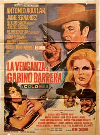image of La venganza de Gabino Barrera (Original poster for the 1971 film)