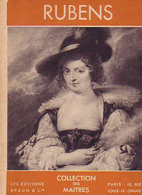 Rubens (Collection des Maitres) by  Germain Bazin - Paperback - @1960 - from Rainy Day Paperback Exchange and Biblio.com