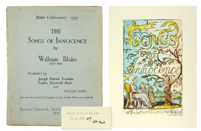4to. London: Bernard Quaritch, 1927. 4to, 28 plates hand-colored. Original printed wrappers, stitche...