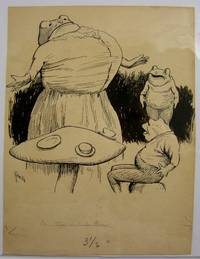 "Original Art: ""De Ox and De Frog"""