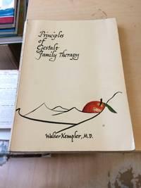 image of Principles of Gestalt Family Therapy. A Gestalt-Experimental Handbook