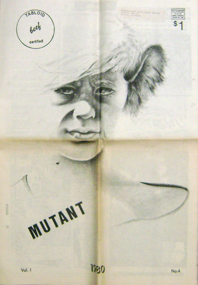 Omaha: Beef Tabloid, 1980. First edition. Paperback. Very Good. Oversized tabloid style zine publish...