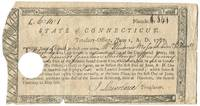 Partially Printed Receipt for Payment to the Surviving Wife of a Native American Revolutionary War Soldier Daniel Mossock