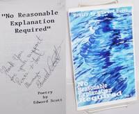 "No reasonable explanation required"" vol. 1, poetry"