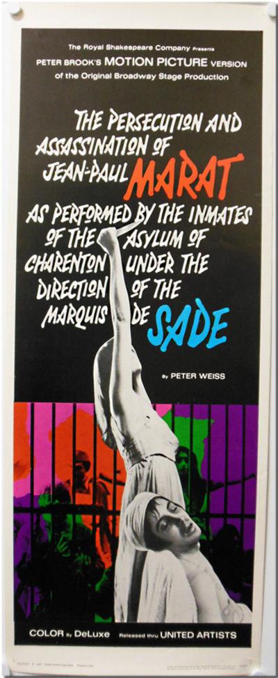 : United Artists, 1967. Folio (14