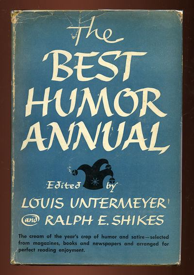 New York: Holt, 1951. Hardcover. Very Good/Very Good. First edition. Very good plus in a very good d...
