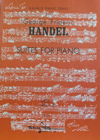 Suites for Piano, Vol. 1 (Nos. 1-8)