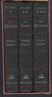 Snopes: A Trilogy, Including The Town, The Hamlet & The Mansion (3 Voloumes in Slipcase) by  William Faulkner - Hardcover - Book Club Edition (BCE/BOMC) - 1964 - from Turn-The-Page Books and Biblio.com