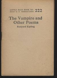 The Vampire And Other Poems By Kipling Rudyard