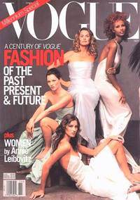 image of VOGUE 1999: MILLENNIUM SPECIAL: A CENTURY OF FASHION, THE UBERMODELS