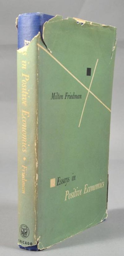 milton friedman essays in positive economics research paper  milton friedman essays in positive economics milton friedman the methodology of positive economics in essays in