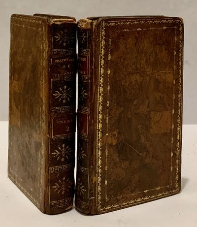 Paris: Didot L'Aine, 1786. leather_bound. Contemporary full brown calf. Aeg. Very good. 2 vols.. 240...