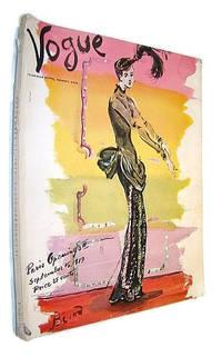 image of Vogue (American) Incorporating Vanity Fair (Magazine), September 15, 1939 - Paris Openings II / Classic Horst Photo of Back-Lacing Corset