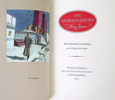 : Limited Editions Club, 1963. Hardcover. Bookplate on the front pastedown. Very mild darkening to t...