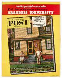 (Poster): The Saturday Evening Post. May 26, 1951: Jewish-sponsored-nonsectarian... Brandeis University