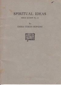image of Spiritual Ideas, Bible Lesson No. 35  [SCARCE]