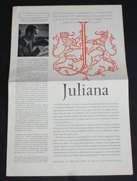 "Linotype Matrix - Number 31 - Linotype Juliana, March 1959. ""A Typographic Journal Published from Time to Time by Linotype and Machinery Limited"