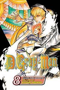 D. Gray-Man: v. 8 (D.Gray-Man) by Katsura Hoshino