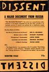 image of Dissent:  Quarterly of Socialist Opinion: Volume  VII, No. 1: Winter, 1960
