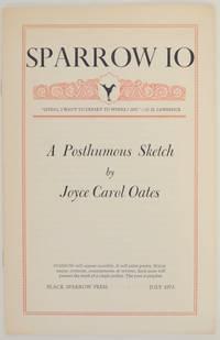 Sparrow 10: A Posthumous Sketch