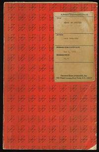 New York: Harcourt, Brace and Jovanovich, 1971. Softcover. Very Good. First edition. Uncorrected Pro...