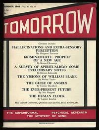 London: Tomorrow Publications, 1963. Softcover. Near Fine. Vol. XI, no. III. Near fine in slightly t...