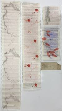Letters from an American in Japan [4 TLS on Japanese Rice Paper, 1920s]