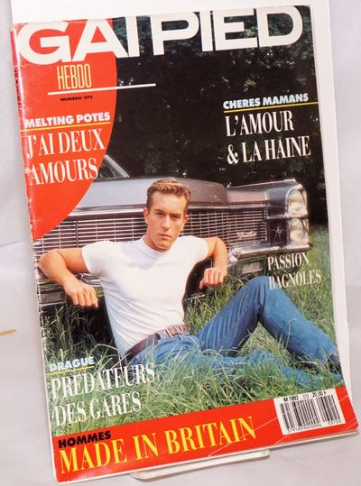 Paris: Triangle Rose, 1989. Magazine. 84p., including covers, 8.75x11.75 inches, text in French, ill...