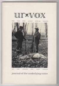 Ur Vox : A Journal of the Underlying Voice, Volume One (1, 2001) - Philip Lamantia's copy