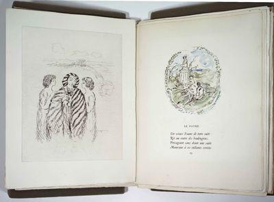 Verlaine, Paul. Fetes Galantes. Illustrations de Pierre Laprade. Paris: Ambroise Vollard, 1928. No. ...