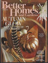 BETTER HOMES AND GARDENS MAGAZINE OCTOBER 2016 by Better Homes and Gardens - 2016 - from Gibson's Books (SKU: 81022)