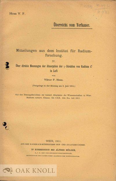 Wien (Vienna), Austria: Kaiserlich Königlicher Hof und Staatsdruckerei, 1911. stiff paper wrappers....