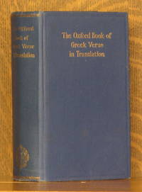 THE OXFORD BOOK OF GREEK VERSE IN TRANSLATION