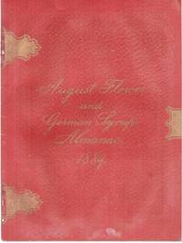 AUGUST FLOWER AND GERMAN SYRUP ALMANAC, 1889